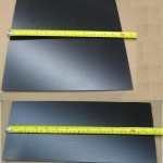 "Aluminum Hot Plates Anodized - 6"" x 14"""