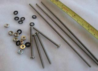 Thermoelectric Assembly Fasteners - 4 x 40 nuts